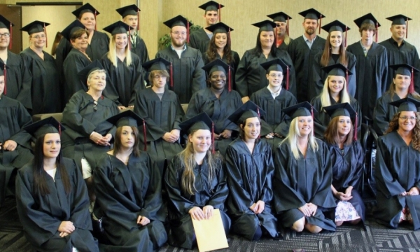 adult education graduation photo