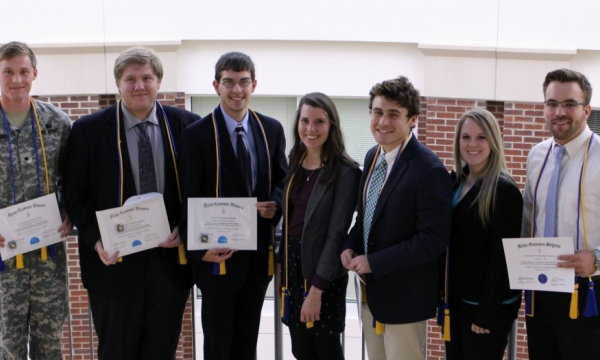 Beta Gamma Sigma inductees photo