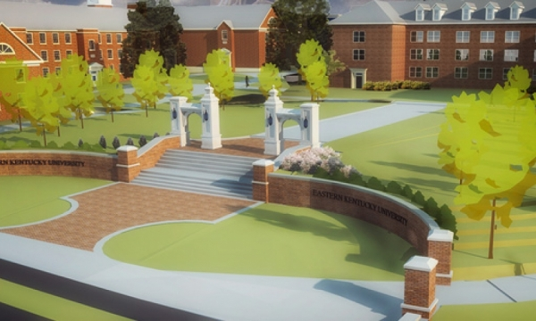 Approved design for Lancaster Entrance