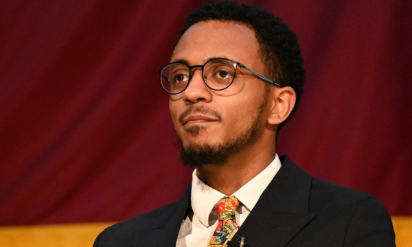 Photo of Eyouel Mekonnen, student regent