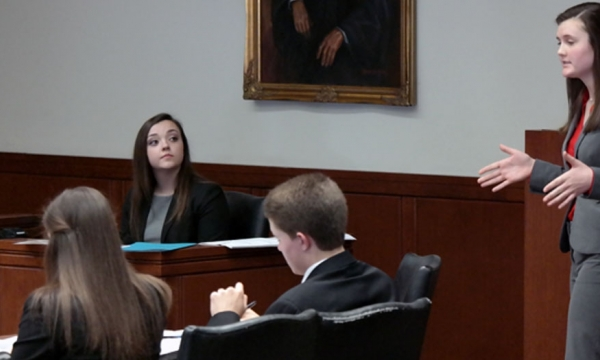 photo from mock trial tourney