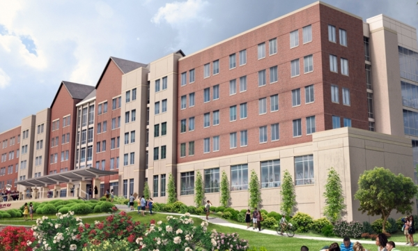 New Martin Hall Rendering