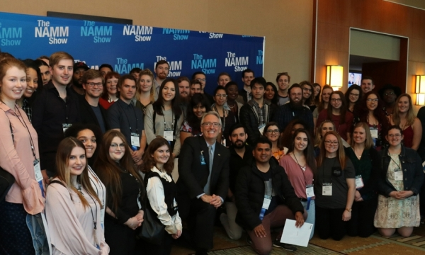 NAMM students photo