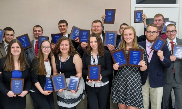 photo of PBL winners