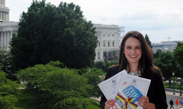 EKU Junior serves as intern in Washington DC