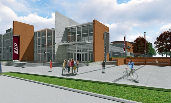 Rendering of recreation center