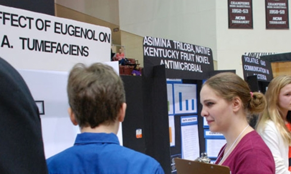 File photo from 2015 Science Fair