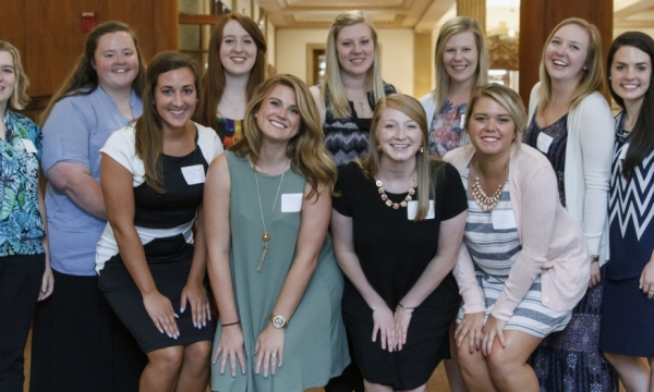 scholarship recipients photo