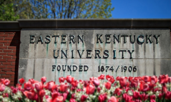 EKU sign file photo