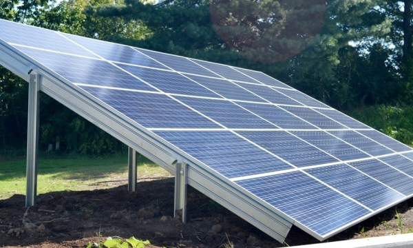 photo of solar panel array