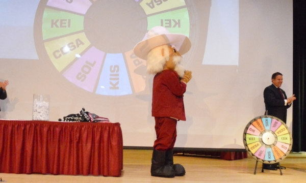 Spin the Wheel event photo