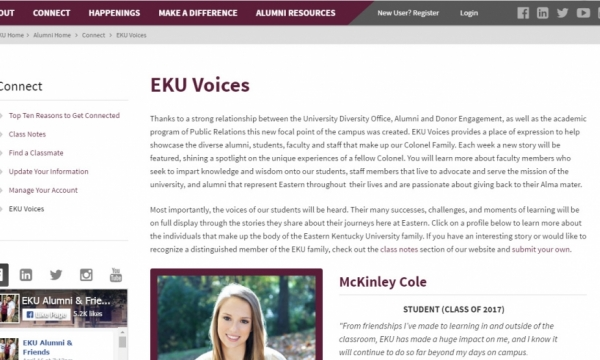EKU Voices screenshot