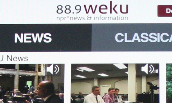 The WEKU app offers listeners a chance to take the station with them anywhere.
