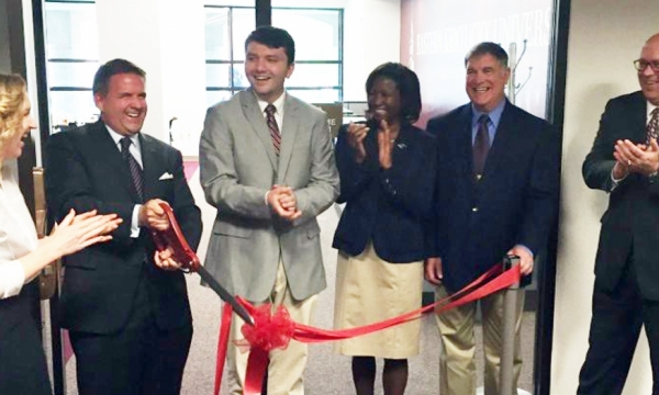 photo from Welcome Center ribbon cutting