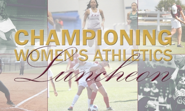 Championing Women's Athletics logo