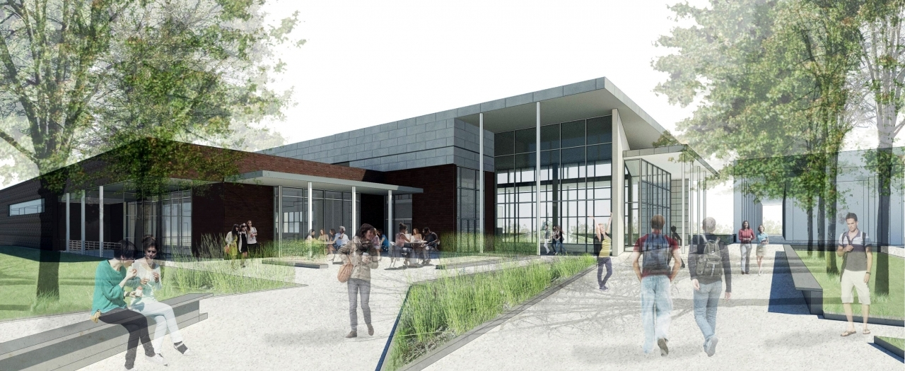 dining hall rendering