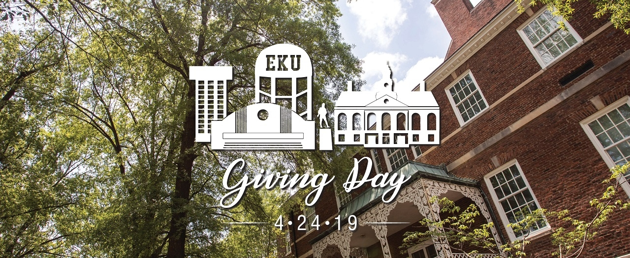 EKU's first Giving Day was held on April 24, 2019