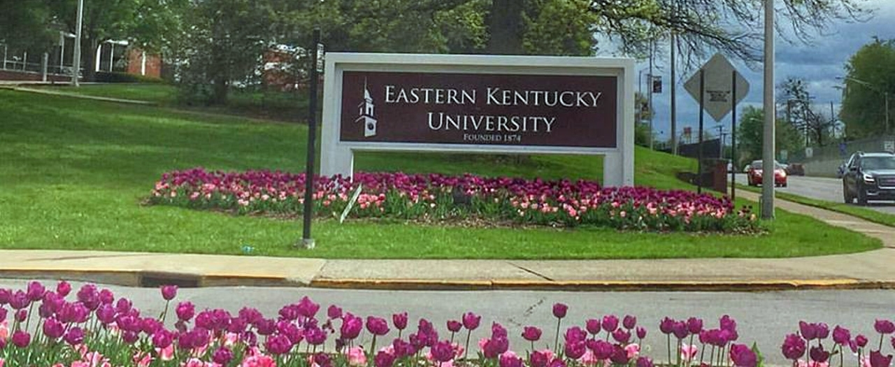 EKU sign photo
