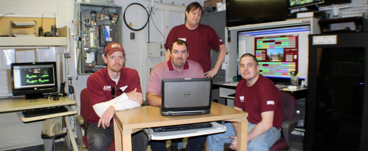photo of EKU energy management team