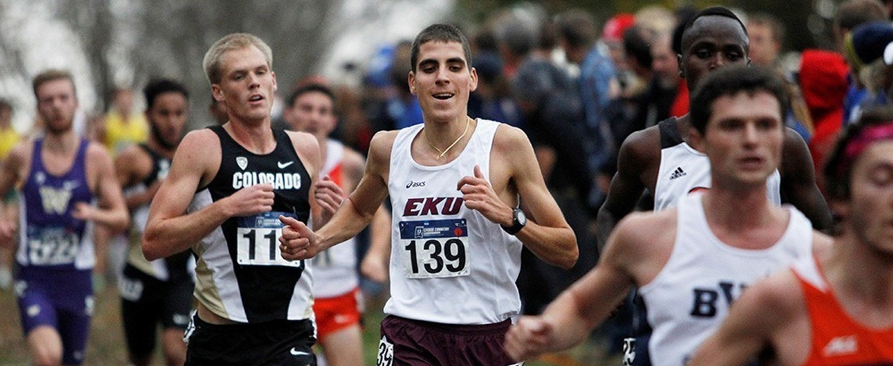 Men's Cross Country Team 17th Nationally