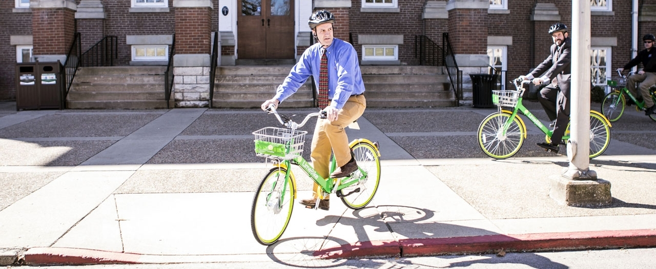 41d0146c388 LimeBike Dock-Free Ride Share Program Launches | EKU Stories ...