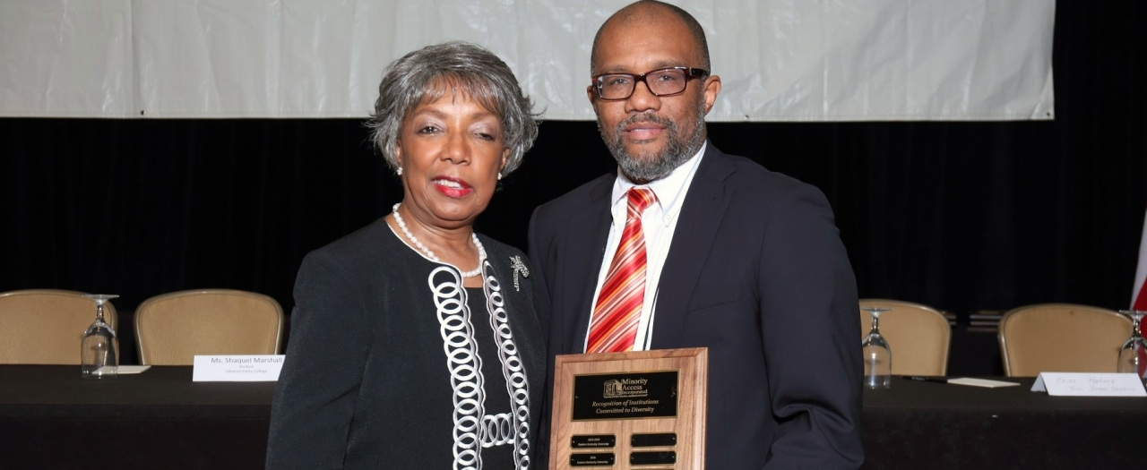 photo of Dr. Forde w award