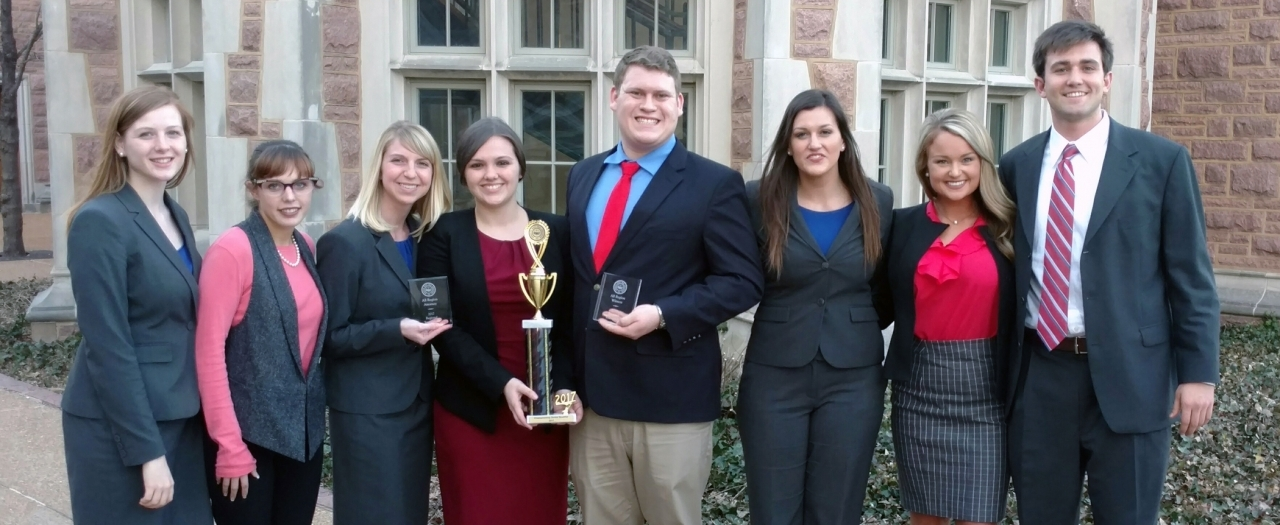 Mock Trial 2nd-place team