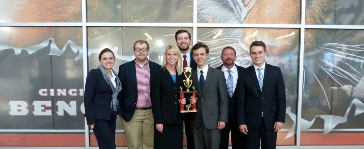 EKU Mock Trial Team at National Tournament