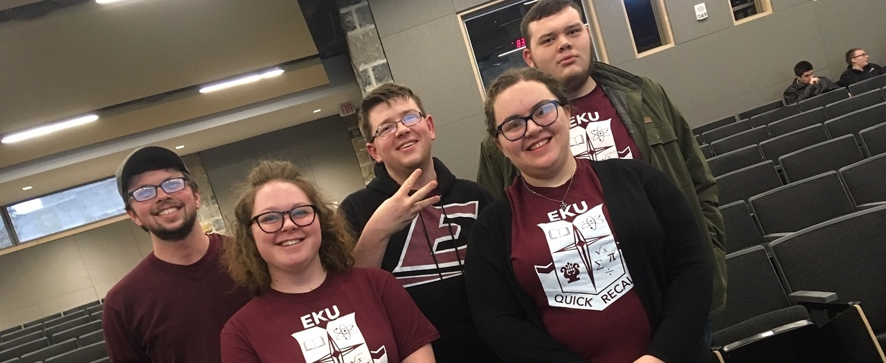 EKU's Quick Recall team.