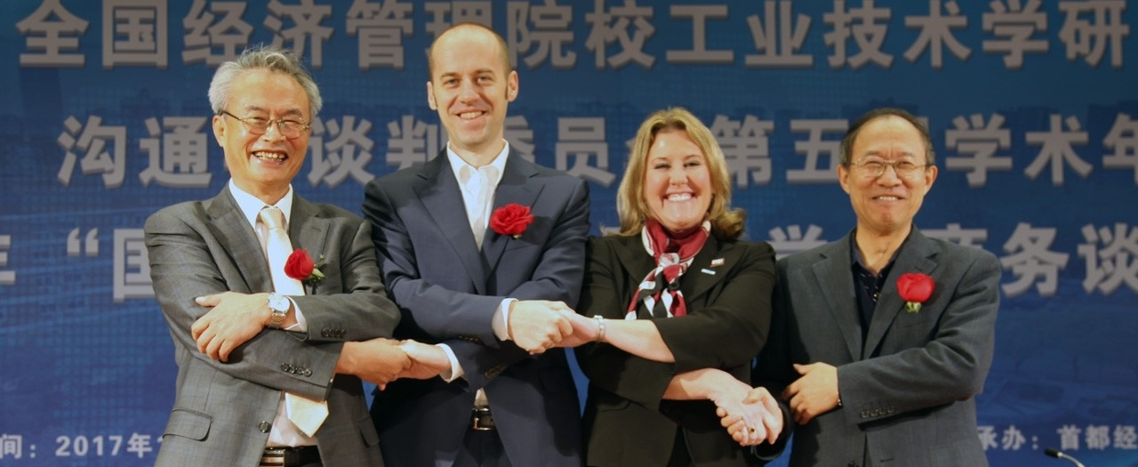 Robles in China photo