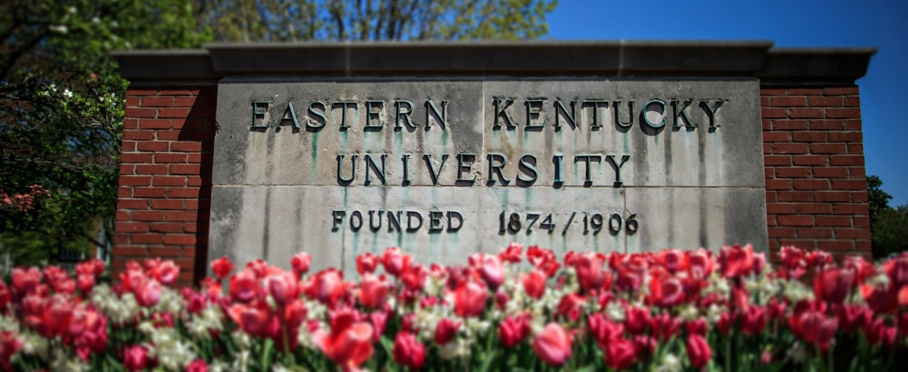 file photo of EKU sign