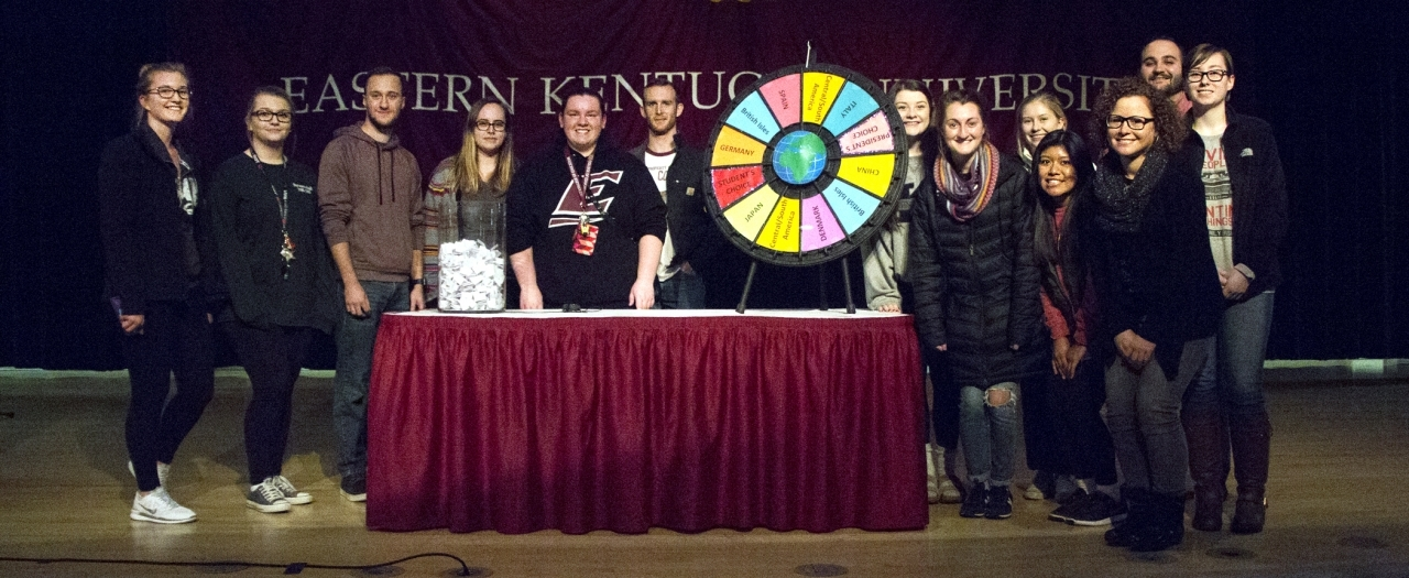 Spin the Wheel scholarship winners photo