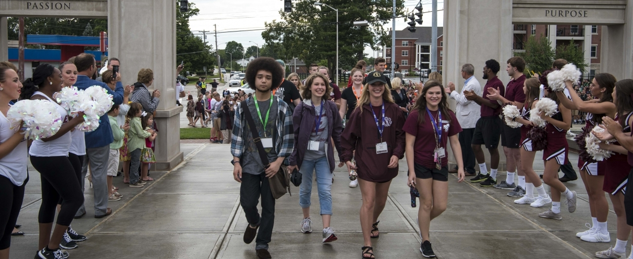 photo of Welcome Walk