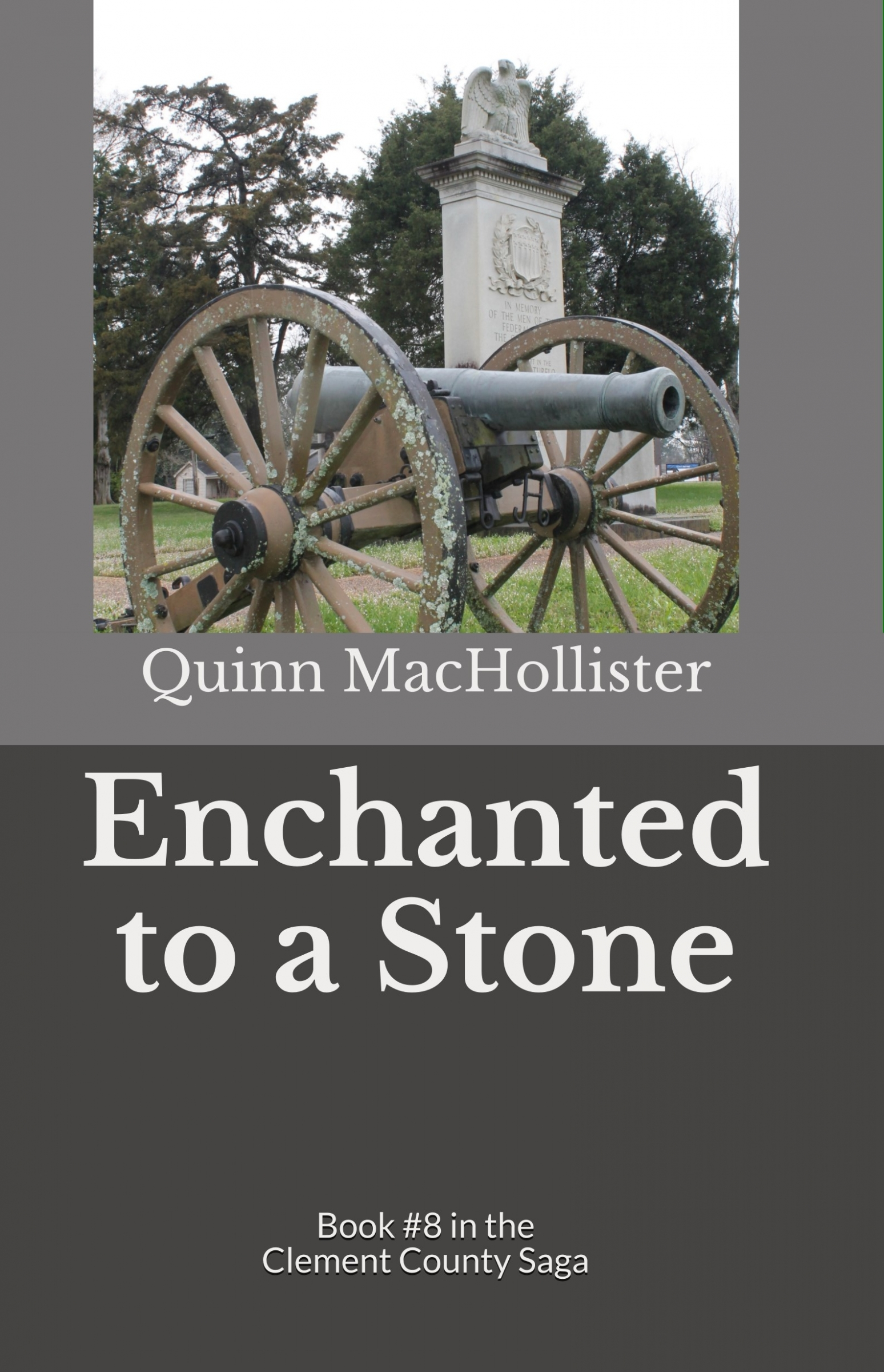 """Enchanted to a Stone"" cover"