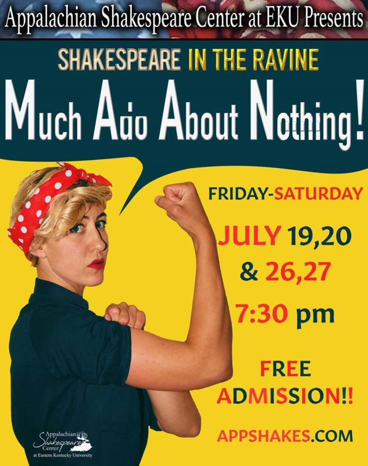 Shakespeare in the Ravine Poster