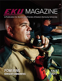 cover of EKU Magazine Fall 2017