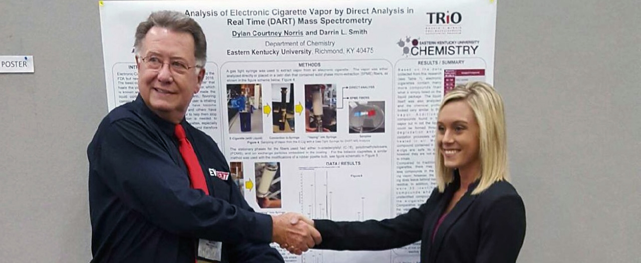 Senior Takes First Place In Poster Competition | EKU ...